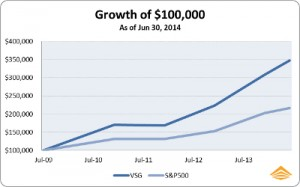 2014 Mid Year VSG Portfolio Performance Update