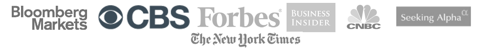 Value Stock Guide has been featured in New York Times, Forbes, Bloomberg, Huffington Post and other fine publications
